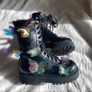 Club Exx Endless Dreamin' Butterfly Boots